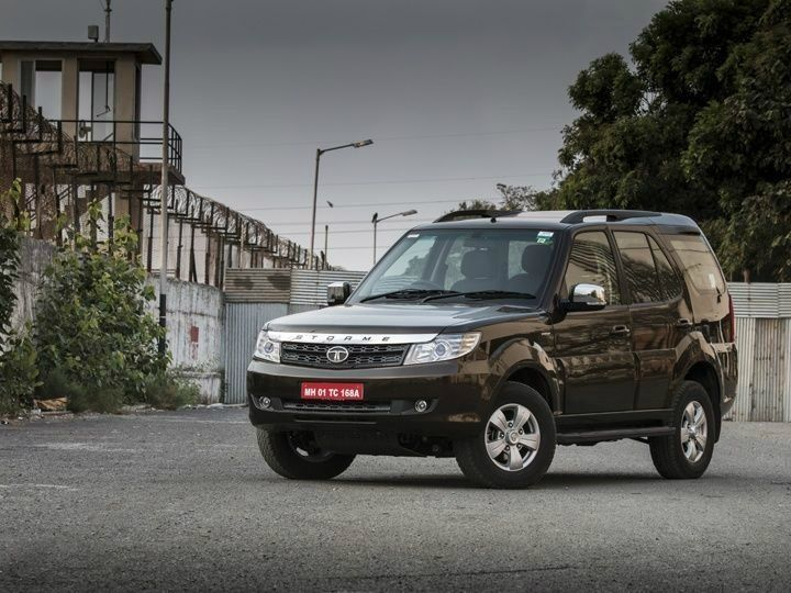 tata safari storme with varicor 400 engine launched at rs lakh zigwheels. Black Bedroom Furniture Sets. Home Design Ideas