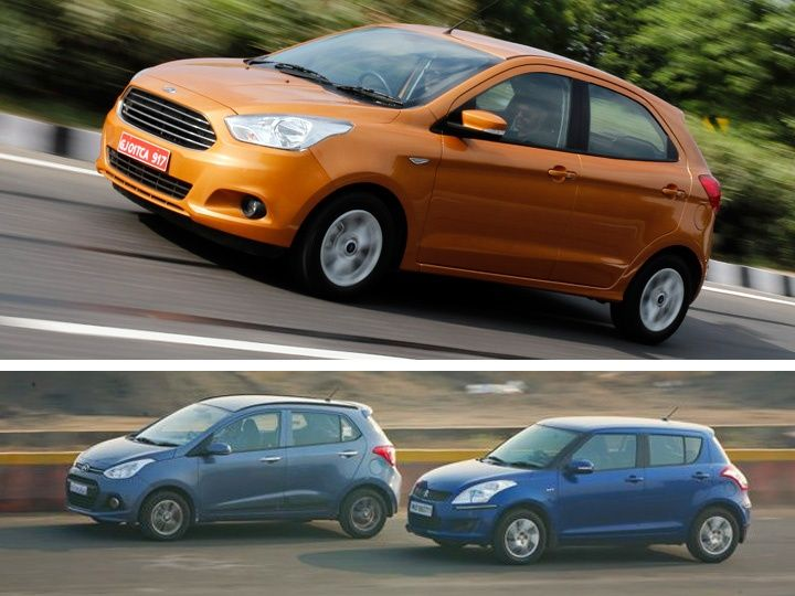 2015 Ford Figo vs Hyundai Grand i10 vs Maruti Suzuki Swift