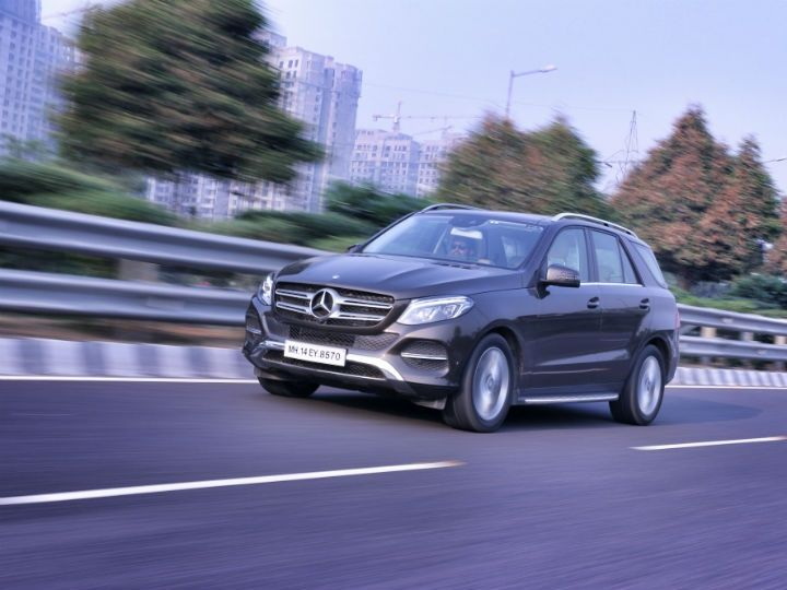 Mercedes-Benz GLE 350d in action