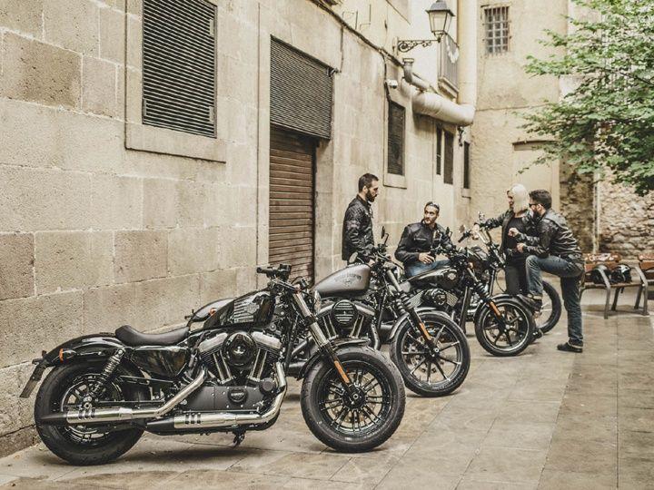 Harley-Davidson Dark Custom range