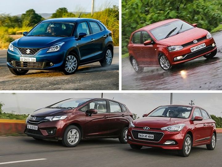 Maruti Suzuki Baleno Vs Hyundai Elite I20 Vs Honda Jazz Vs