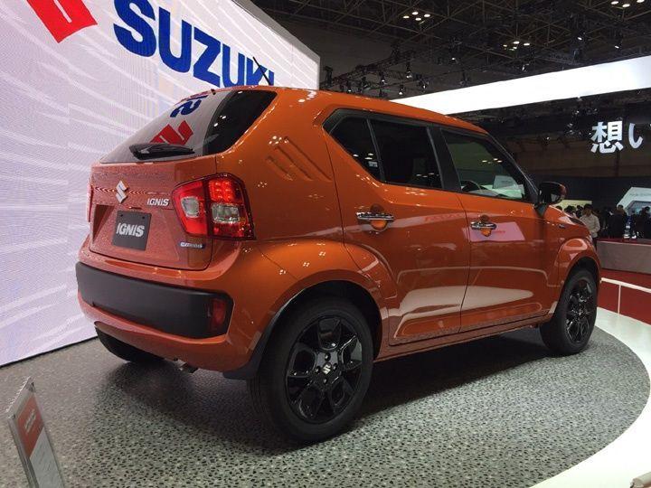 Tokyo 2015 India Bound Suzuki Ignis Revealed