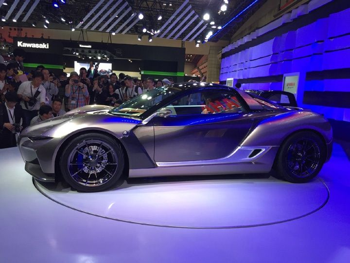 Tokyo 2015 yamaha sports ride concept car first look for Garage yamaha paris