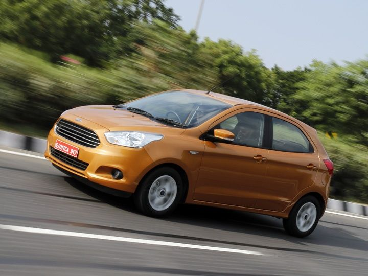 2015 Ford Figo in action