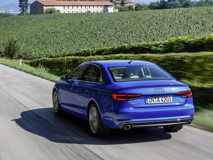 Frankfurt 2015 New Audi A4 coming to India in mid2016  ZigWheels