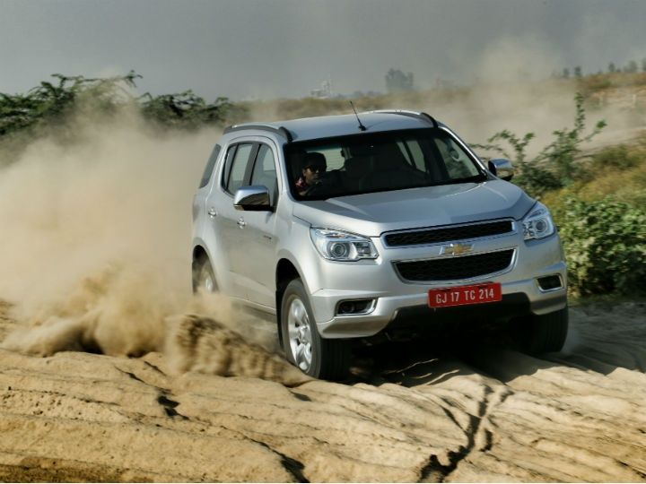 Chevrolet Trailblazer in action