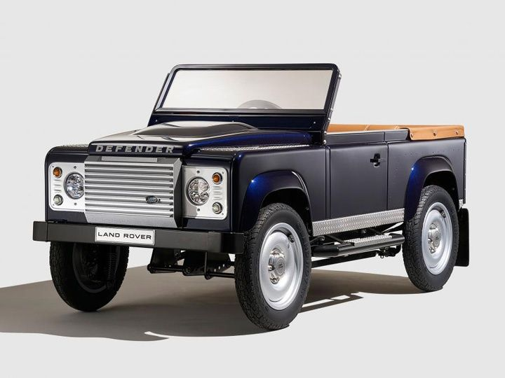 Frankfurt 2015 Land Rover Brings In The Pedal Car Concept Zigwheels