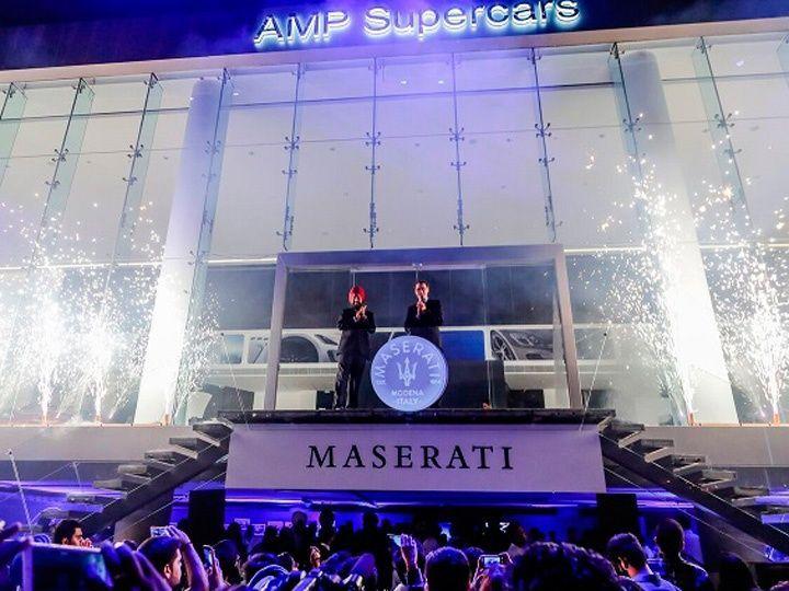 Maserati Inaugurates First Showroom in India