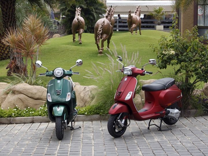 vespa vxl and sxl 150: test ride review - zigwheels
