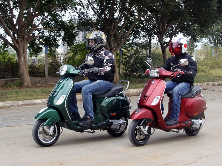 Vespa Vxl And Sxl 150 Test Ride Review Zigwheels