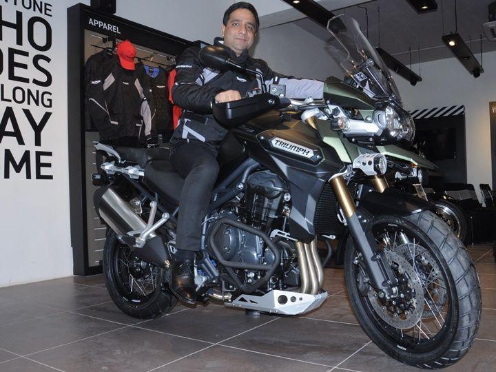 Triumph Motorcycles Inaugurates New Showroom In Jaipur Zigwheels