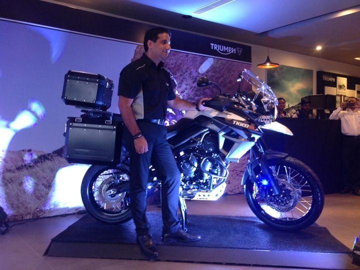 Triumph Tiger 800 XCA India launch