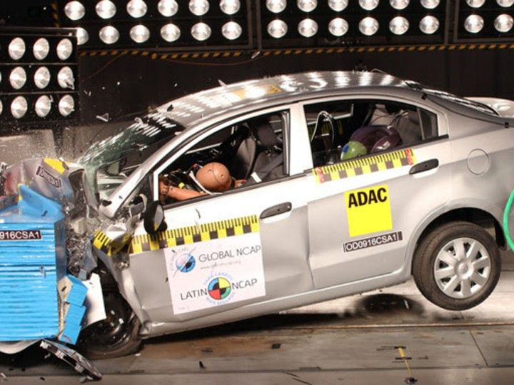 Chevrolet Sail sedan gets zero-star rating in Latin NCAP crash test