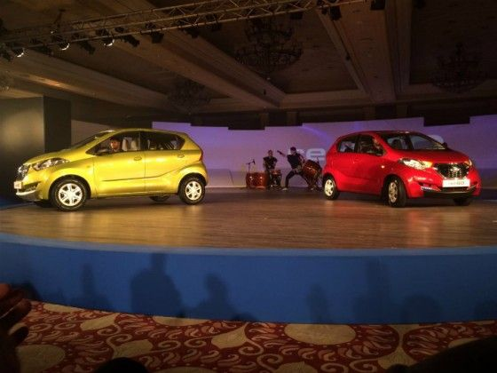 Datsun Redi-GO 'urban cross' hatchback unveiled