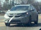 New Honda CR-V spied