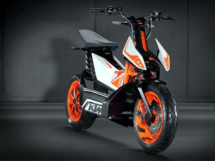 KTM Electric Scooter To Be Based On The Bajaj Chetak