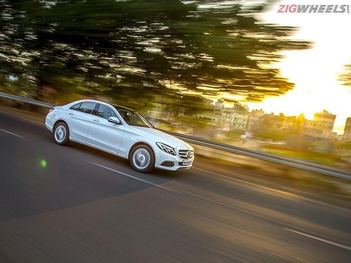 Mercedes-Benz C250d front picture