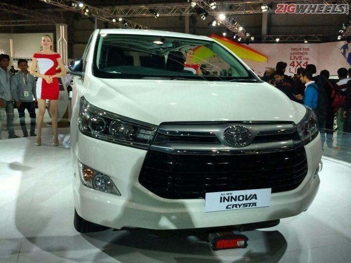 Toyota Innova Crysta front