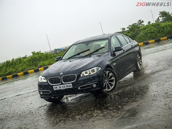 BMW 520i in Action