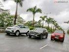 Mercedes GLC 220d vs BMW X3 M Sport vs Range Rover Evoque: Comparison Review