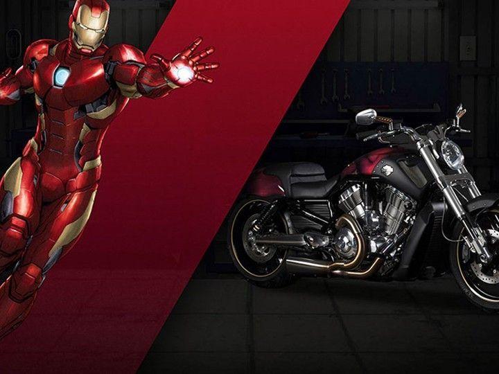 Harley Davidson: Harley-Davidson & Marvel Join Hands For Custom Bikes