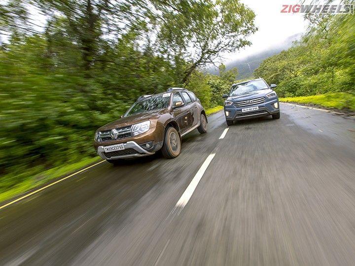 Renault Duster AMT vs Hyundai Creta Automatic