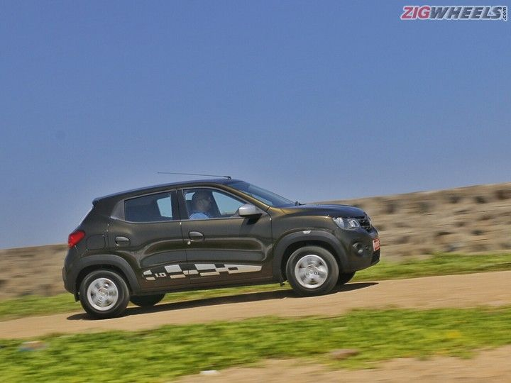 Renault Kwid 1.0-litre - Action Pic