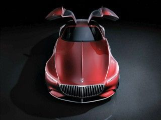 Mercedes-Maybach 6 Concept Is A 748PS Commuter For Darth Vader!