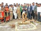 VW, Pune Police Conduct Bhoomi Pujan at Traffic Control Centre Site