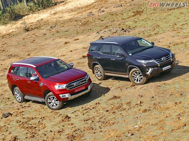 Fortuner Vs Endeavour >> Toyota Fortuner Vs Ford Endeavour Comparison Review With | Autos Post