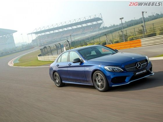 Mercedes-AMG C43: Track Review