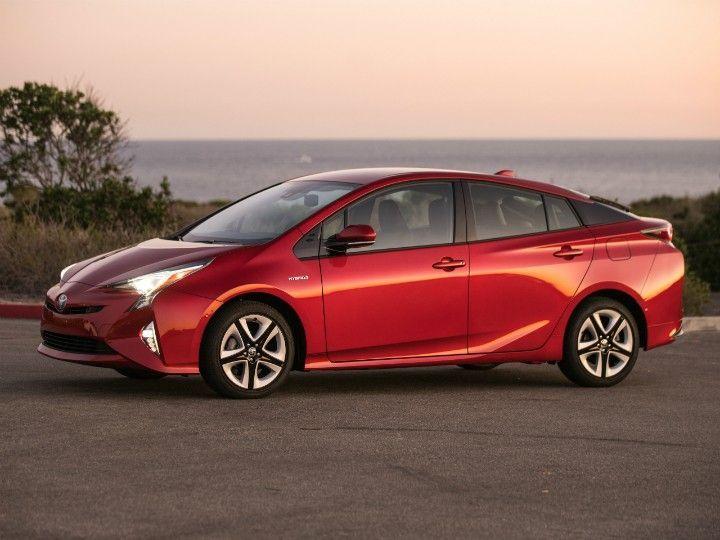 The fourth gen Toyota Prius
