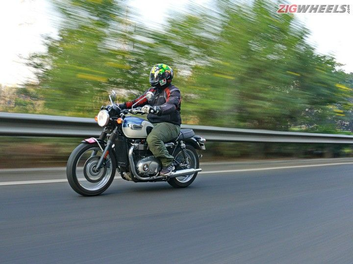 Triumph Bonneville T100 Road Test Review Zigwheels