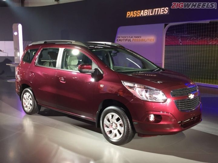 2016 Auto Expo Chevrolet Spin Mpv Showcased Zigwheels