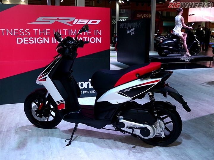 aprilia sr 150 launch date and pricing revealed - zigwheels