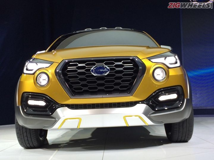 2016 Auto Expo: Datsun Go-Cross Concept unveiled