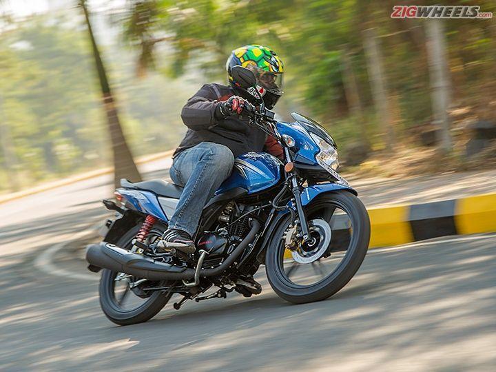 Honda CB Shine SP action
