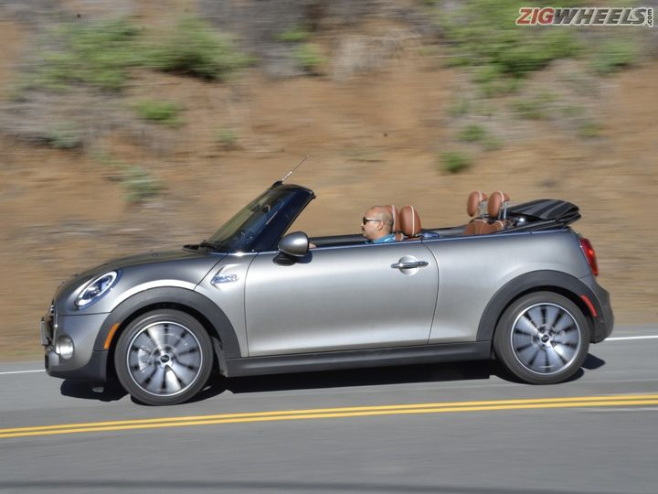 Mini Cooper S Convertible First Drive Review Zigwheels