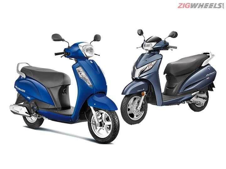 New Suzuki Access 125 vs Honda Activa 125: Spec Comparison