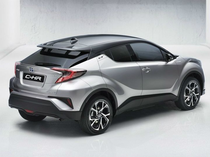 Toyota Chr Compact Suv Rear