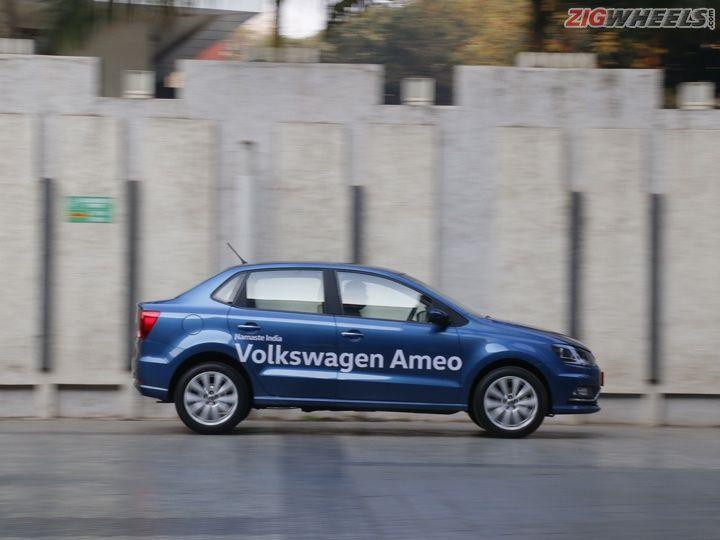 Volkswagen Ameo side panning
