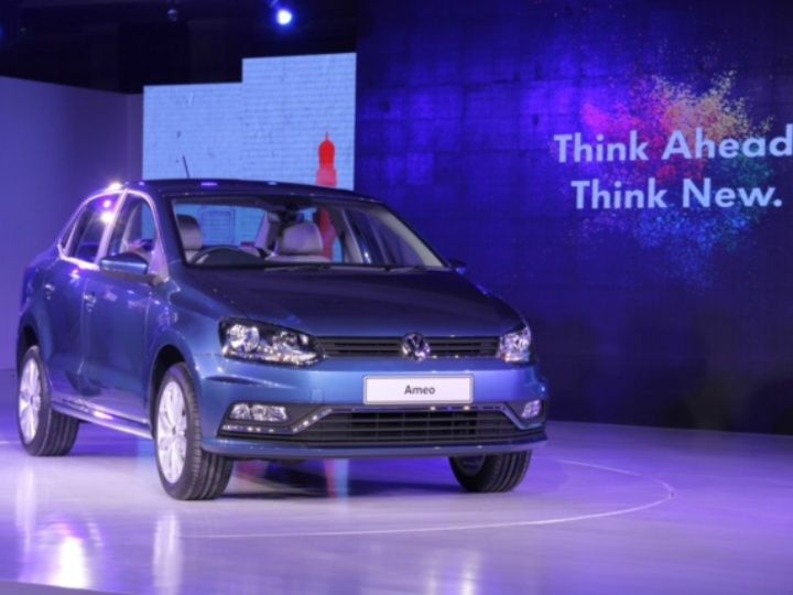 Fully India-made Volkswagen Ameo to be showcased at 'Make in