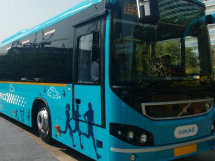 India's first hybrid bus delivered by Volvo to Navi Mumbai - ZigWheels