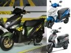 Yamaha Cygnus Ray-ZR vs Honda Dio vs Suzuki Lets: Spec Comparison