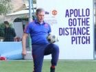 Ex-Manchester United skipper inaugurates Apollo's modern football pitch in Mumbai