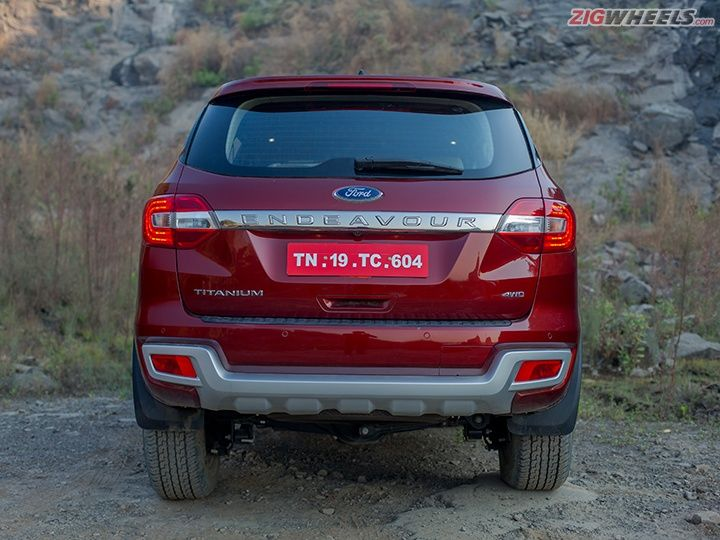 Ford Endeavour Rear Badges
