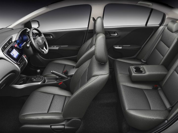 Honda City Receives Optional Black Interiors And Dual Airbags For