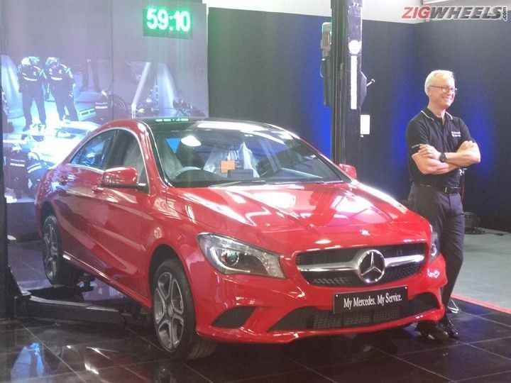 Mercedes-Benz recently launched the My Mercedes My Service initiative in India