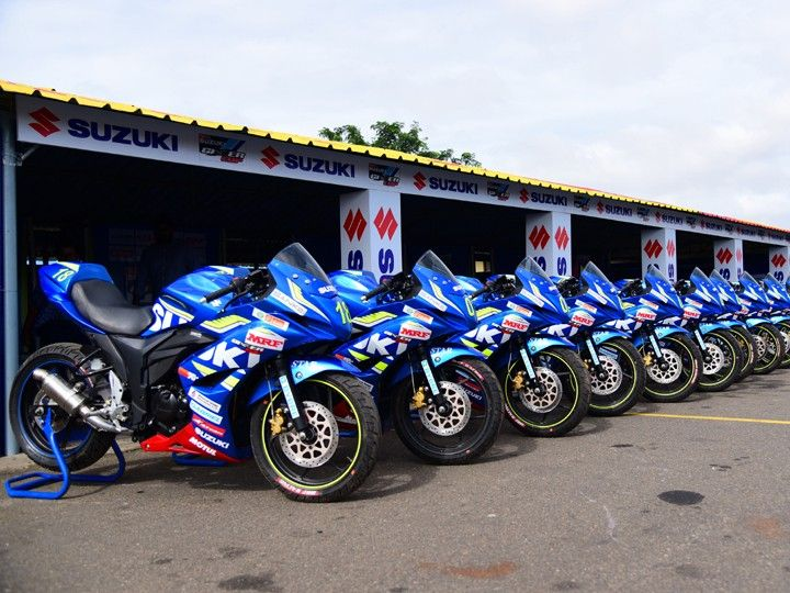 2016 Suzuki Gixxer SF Race Bike