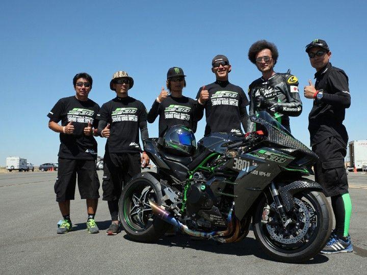 Kawasaki Ninja H2R top speed record planned - ZigWheels